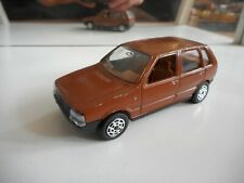 Hotwheels Fiat Uno in Brown on 1:43