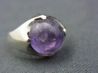 schöner alter Ring 925/-Silber Amethyst ca. 70er Jahre B&L