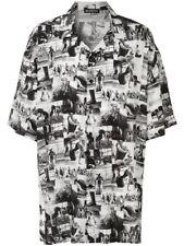 Balenciaga Men's Exercise Class Photo Print shirt