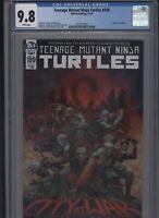 Teenage Mutant Ninja Turtles #100 CGC 9.8 main cover DEATH OF SPLINTER