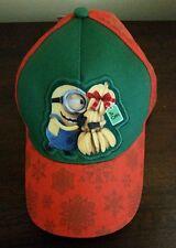 Despicable Me Cap Boys Baseball Style Hat Minion Bananas Christmas Winter Theme