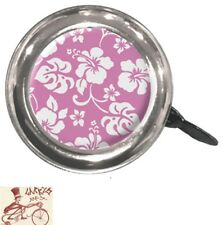 CLEAN MOTION SWELL FLOWERS PINK BICYCLE BELL