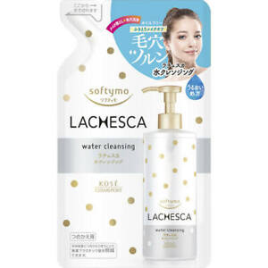 ☀KOSE Softymo Water Cleansing Makeup Remover LACHESCA Refill 330ml From Japan