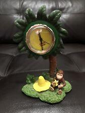 Rare Curious George Palm Tree Clock Hmco Corp.