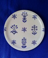 """Arabia Finland porcelain plate """"Tapestry"""" 6.5"""""""