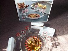 GAME NIGHT CRYSTAL CLEAR ROULETTE ADULT DRINKING GAME SHOT GLASSES
