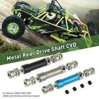Upgrade Metall hinten Antriebswelle für 1/12 Wltoys 12428 12423 RC Crawler Car