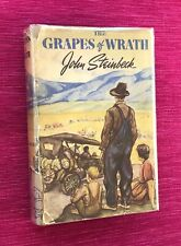 THE GRAPES OF WRATH / JOHN STEINBECK - 1939 1st HC/DJ
