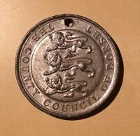 The County Council of Dorset Awarded For Regular Attendance Medal Victorian