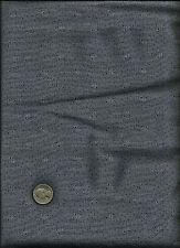 Nice Unusual Fan Look Geometric &  Micro Dot Print black on grey Fabric