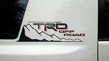 "2 Toyota custom FJ Cruiser ""TRD Off Road"" decal sets - $32.99 FREE SHIP"