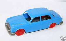 MICRO JOUEF HO 1/86 1/87 PEUGEOT 403 BLEU CLAIR roues rouge
