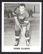 1965 COCA-COLA COKE NORM ULLMAN DETROIT RED WINGS ROOKIE HOCKEY CARD