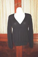 Yves Saint Laurent YSL  Women's Black Wool  Sweater Size Small