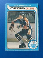 Dave Semenko ROOKIE 1979-80 O-Pee-Chee OPC Hockey Card #371 Edmonton Oilers