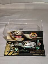 Michael Schumacher 20 Years, Belgian GP, Mercedes GPW02, F1, 1:43 Minichamps