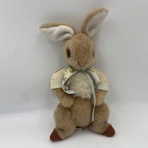 "Vtg 1970s  Peter Rabbit Plush Toy Eden Nursery Decor Stuffed Animal Bunny 16"""