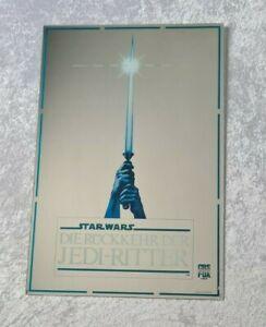 Vintage STAR WARS SPIEGEL Mirror Jedi Ritter StarWars Werbung KEIN POSTER PLAKAT