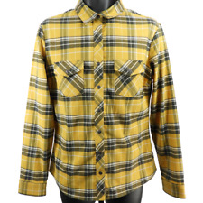 KUHL Multicolor Plaid Long Sleeve Button Down Shirt Men's Size Large