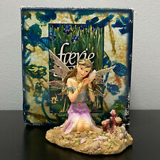 Faerie Glen Munro Fairy Kelytael Listening to Seashell FG891 Figure Mint RARE