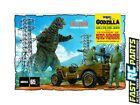 MPC ~ general hobby plastic models 1/25 Godzilla Army Jeep Model Kit MPC882