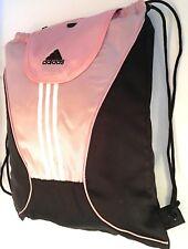 Adidas Pink/Black Gym Sack Back Pack Bag
