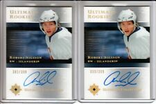 2005-06 Ultimate Collection #123 Robert Nilsson 2 x RC LOT Auto /399