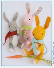PATTERN - Warren - cute rabbit softie - Jumbo Creative Cards mini PATTERN