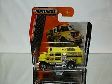 MATCHBOX 89/120 INTERNATIONAL WORKSTAR - YELLOW 1:87? - NEAR MINT CARD BLISTER