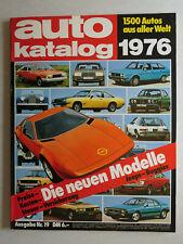 auto katalog 1976 Nr. 19 - Vereinigte Motor-Verlage GmbH, 210 Seiten