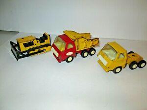3 Older Tonka Pressed Steel Vehicles