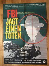 FBI jagt einen Toten (Kinoplakat '65) - Myron Healy / Don C. Harvey