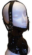 Bondage Leder Korsett Halsband Halskorsett schwarz Halsfessel extrem