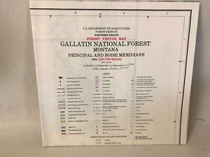 USDA Gallatin National Forest Montana Principal and Boise Meridians 1984 (1991)