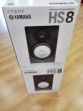 Yamaha HS8 Studio Monitor PAIR Extremely Accurate Response Save Big!!