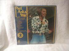 PAUL ANKA - PAUL ANKA WAY / DOUBLE LP / SEALED