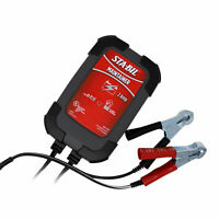 STA-BIL 2 Amp Car Motorcycle Marine Battery Maintainer with Voltage Detection