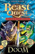 Beast Quest - Master Your Destiny: The Dagger of Doom: v. 2 by Adam Blade New PB