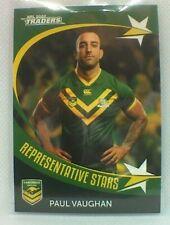 2020 Nrl Traders Representative Stars RS8 Paul Vaughn Kangaroos