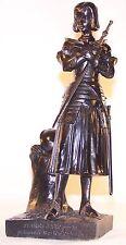 Statuette Jeanne d'Arc - copie de la statue du  bois Chenu