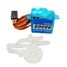 6g RC Mini micro Servo for Rc helicopter Airplane Foamy Plane Boat  F