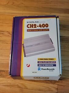 Sterling Series CH2-400 Mosfet 2-Channel 400W Amplifier Power Acoustik