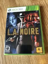 L.A. Noire (Microsoft Xbox 360, 2011) Brand New Factory Sealed ES