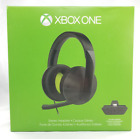 Microsoft Xbox One Stereo Headset - Black- for Microsoft Xbox One - Headset Only