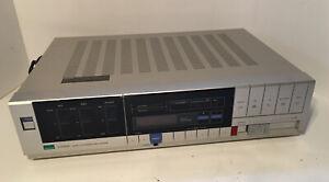 SANSUI S-X1030 Vintage Quartz Synthesizer Stereo Receiver Silver Clean Powers On