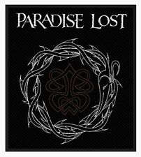 Paradise Lost Crown Of Thorns Woven Patch P024P Anathema My Dying Bride