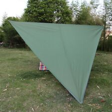 Super Large Sunscreen Camping Awning Portable Windproof Triangle Canopy Mat