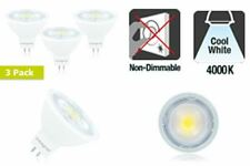 LED MR16 GU5.3 8.3W (51W) 4000K 700lm Non-Dimmable Light Bulbs 3 PACK