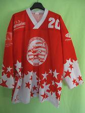 Maillot Hockey Glace Vannes Hermine Cit Dessaint Vintage Porté #20 jersey - XXL