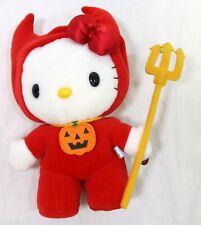 "Sanrio Hello Kitty Halloween Devil Costume Plush Doll 8"""